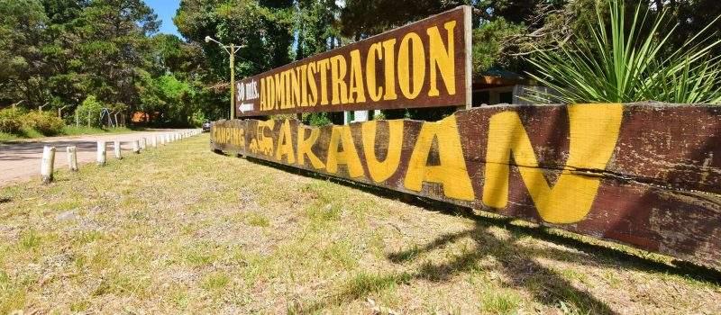 Camping Caravan en Villa Gesell Buenos Aires Argentina