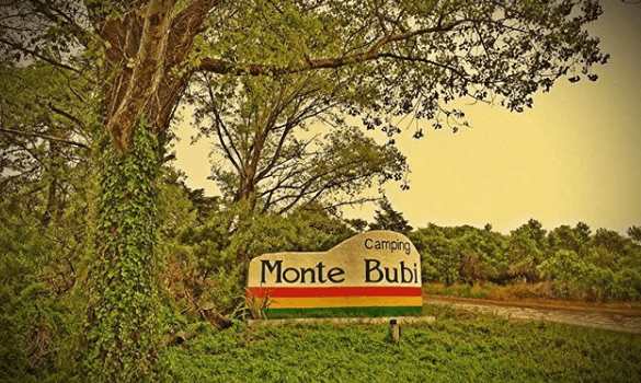Camping Monte Bubi en Villa Gesell Buenos Aires Argentina