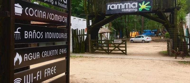 Camping Ramma en Villa Gesell Buenos Aires Argentina