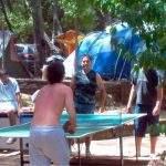 Ping pong entrada villa gesel argentina gesell