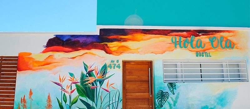 Hostel Hola Ola en Villa Gesell Buenos Aires Argentina