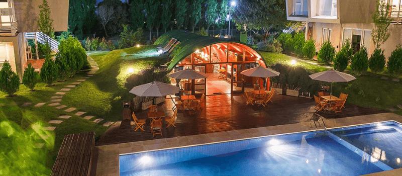 Aparthotel Senderos en Villa Gesell Buenos Aires Argentina