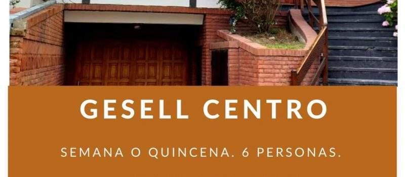 Alquiler de Departamento Triplex en Villa Gesell Buenos Aires Argentina